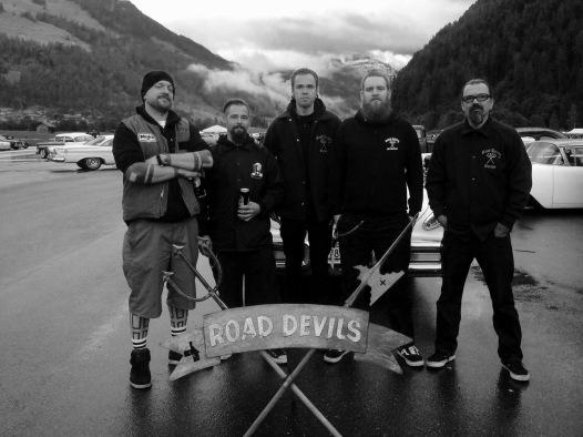 Brenner, Ronny, Christian, Lukas & Mike, Hangar Rockin' 2016
